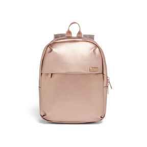 Lipault Miss Plume Backpack XS FL in the color Pink Gold.