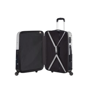 American Tourister Star Wars Legends Spinner Carry-On in the color Star Wars Monochrome.