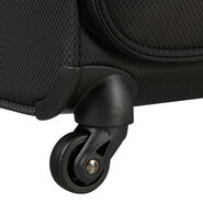 American Tourister Litewing Spinner Carry-On in the color Volcanic Black.
