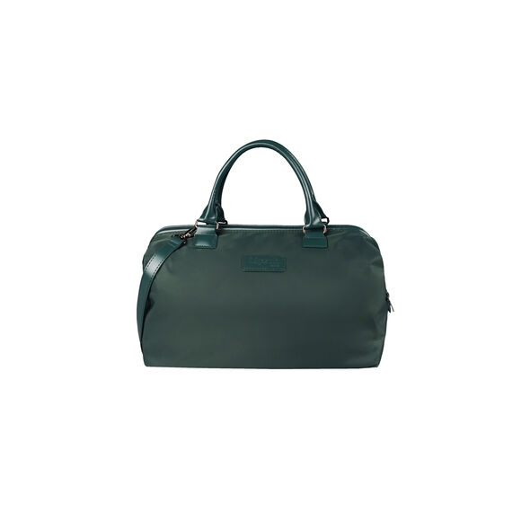 Lipault Lady Plume Bowling Bag M in the color Forest Green.