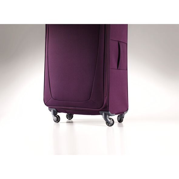 Samsonite Base Hits Spinner Carry-On Widebody in the color Purple.