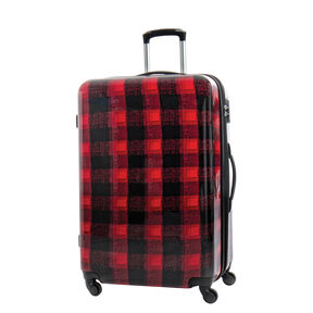 Canadian Tourister Collection Spinner Large in the color Flannel Plaid.