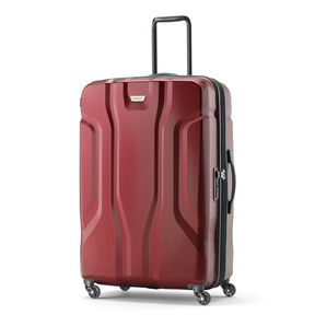 Samsonite Tribute NXT Spinner Large in the color Red.