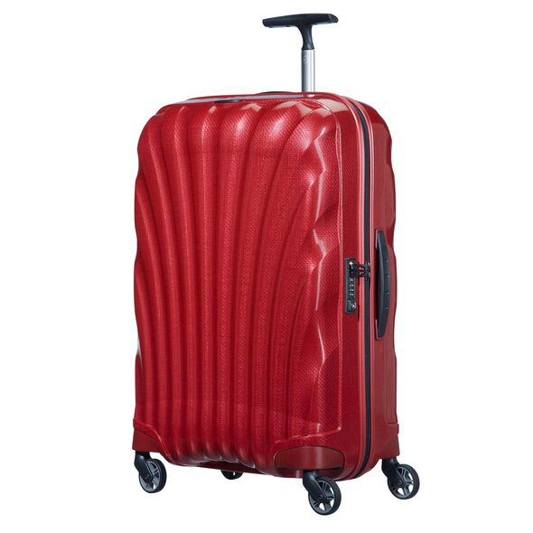 Samsonite Cosmolite Spinner Carry-On in the color Red.