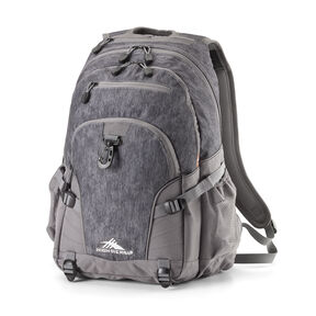 High Sierra Loop Backpack in the color Fabric Tex/Slate.