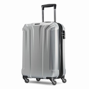Samsonite Opto PC Spinner Carry-On in the color Silver.