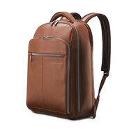 Samsonite Classic Leather Backpack in the color Cognac.
