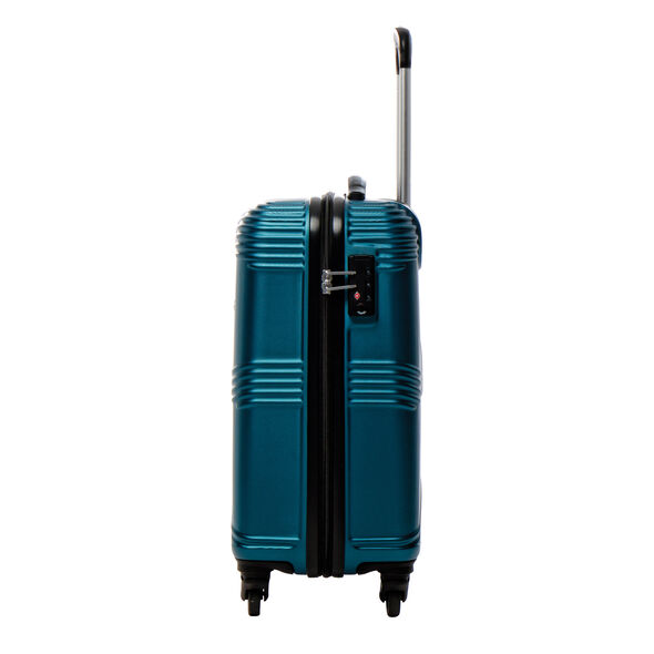 Canadian Tourister Coastal Spinner Carry-On in the color Petrol Blue.