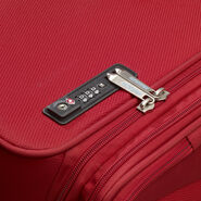 American Tourister Fly Light Spinner Medium in the color Red.