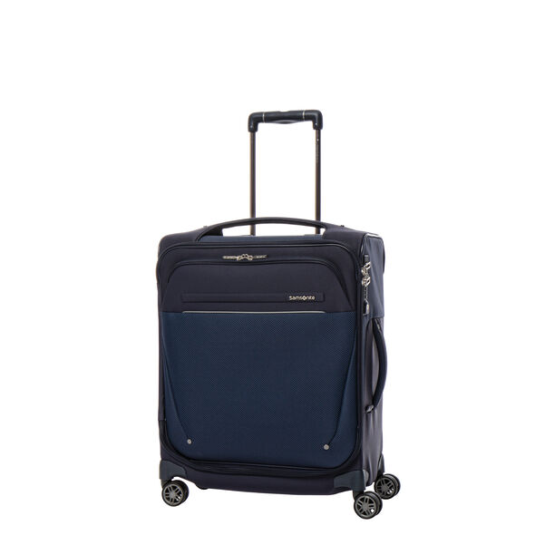 Samsonite B-Lite Icon Spinner Carry-On Widebody in the color Dark Blue.