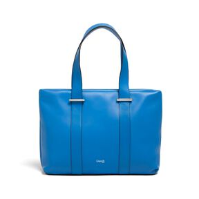 Lipault By The Seine Large Tote Bag in the color Cobalt Blue.