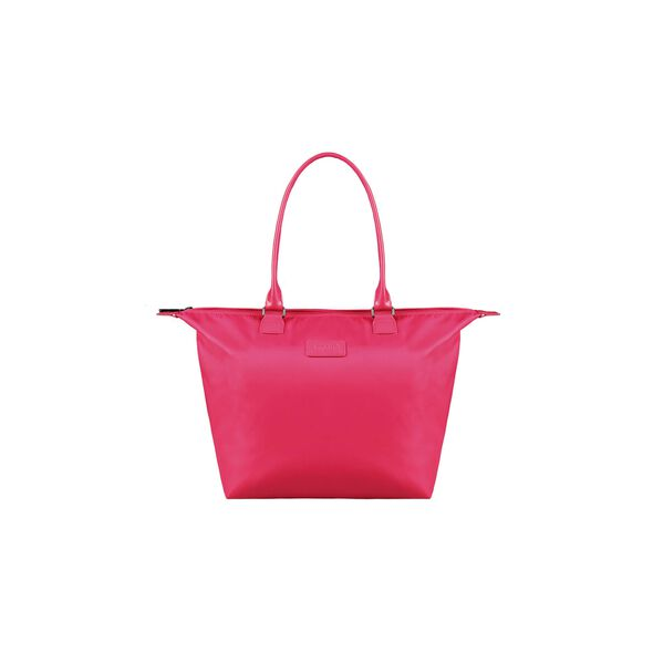 Lipault Lady Plume Tote Bag M in the color Tahiti Pink.