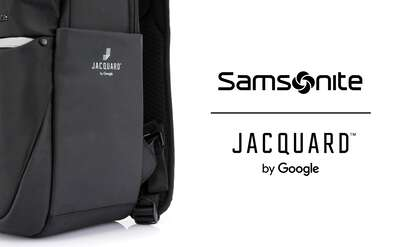 Samsonite x Jacquard™ by Google