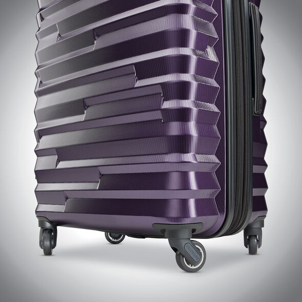 Samsonite Ziplite 4 Spinner Large in the color Purple.