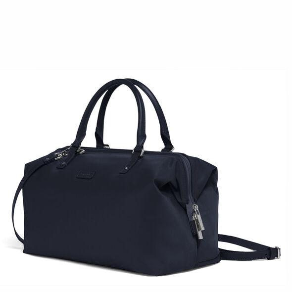 Lipault Lady Plume FL Bowling Bag M in the color Navy.