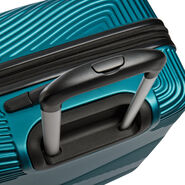 Canadian Tourister Coastal Spinner Medium in the color Petrol Blue.