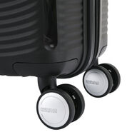 American Tourister Curio Spinner Carry-On in the color Black.