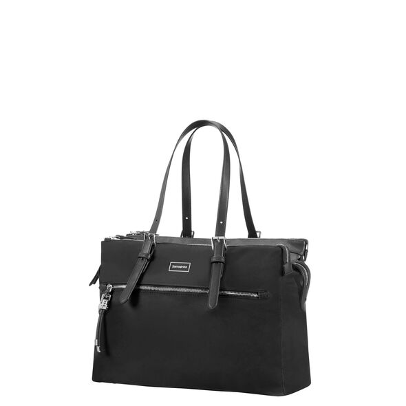"Samsonite Karissa Biz Organized Shopper 14.1"" in the color Black."