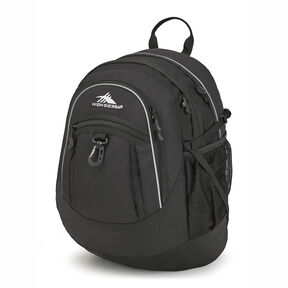 High Sierra Fatboy Backpack in the color Black.
