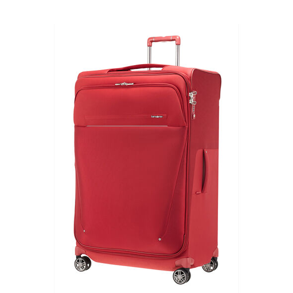 Samsonite B-Lite Icon Spinner Large in the color Ruby Red.