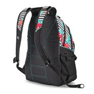 High Sierra Loop Backpack in the color Tropical Stripe/Black/Aquamarine.