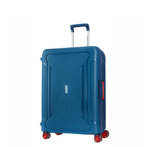 "American Tourister Tribus 29"" Spinner in the color Petrol Blue."