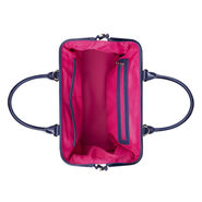 Lipault Blooming Summer Bowling Bag S in the color Flower/Pink/Blue.
