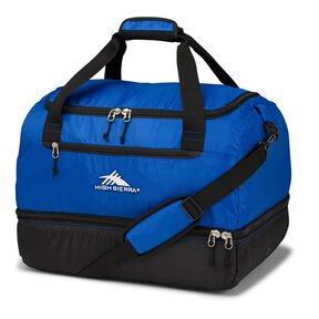 High Sierra Winter Sports Over Under Cargo Duffel in the color Vivid Blue/Black.