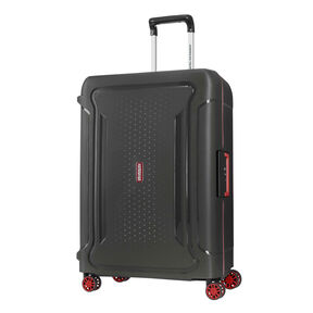 "American Tourister Tribus 25"" Spinner in the color Dark Grey."
