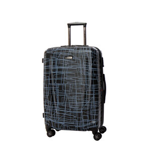 Samsonite Pursuit DLX Spinner Medium in the color Black Print.