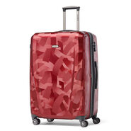 Samsonite Pursuit DLX Spinner Large in the color Abstract Ruby.