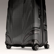 "Samsonite Silhouette XV 21"" Hardside Spinner in the color Black."