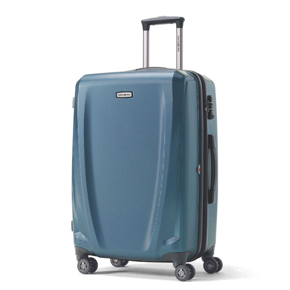 Samsonite Pursuit DLX Spinner Large in the color Teal.