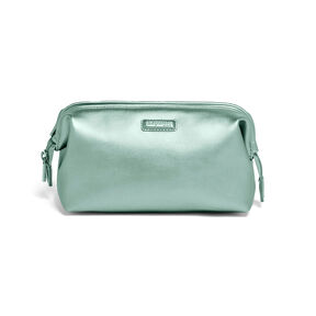 Lipault Miss Plume Toiletry Kit M in the color Aqua Green.