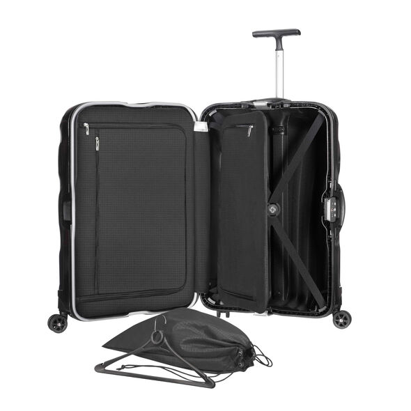 "Samsonite Black Label Lite-Locked Spinner Large (28"") in the color Black."