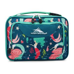 High Sierra Single Compartment Lunch Bag in the color Mermaid.