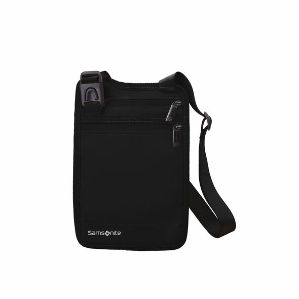 Samsonite Securi-3 Hidden Neck Wallet in the color Black.