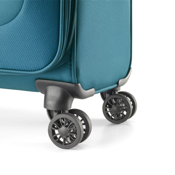 American Tourister Fly Light Spinner Carry-On in the color Teal.