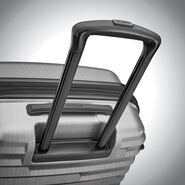 Samsonite Ziplite 4 Spinner Medium in the color Silver Oxide.