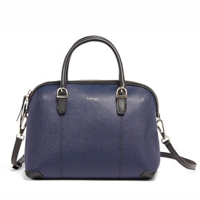 Lipault Variation Boston Bag in the color Navy/Black.