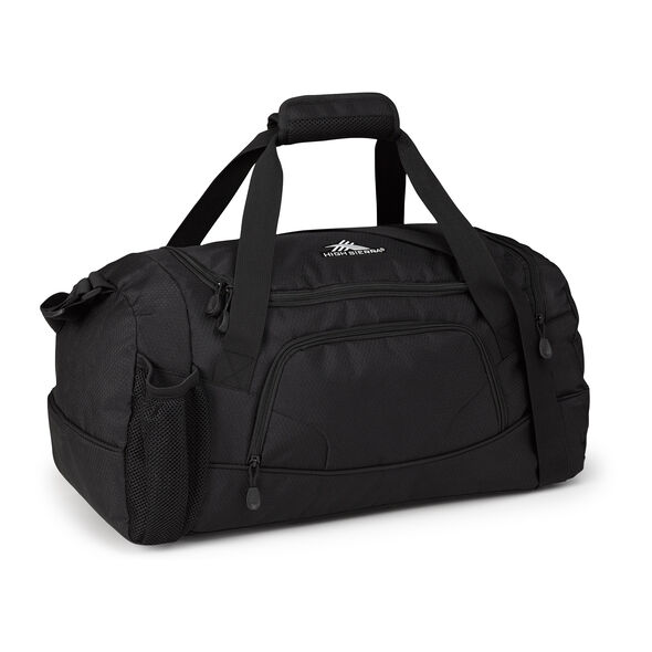 High Sierra Cross Sport Duffels Whirlwind Duffel in the color Black.