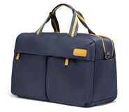 Lipault City Plume 24H Bag in the color Navy/Mustard.