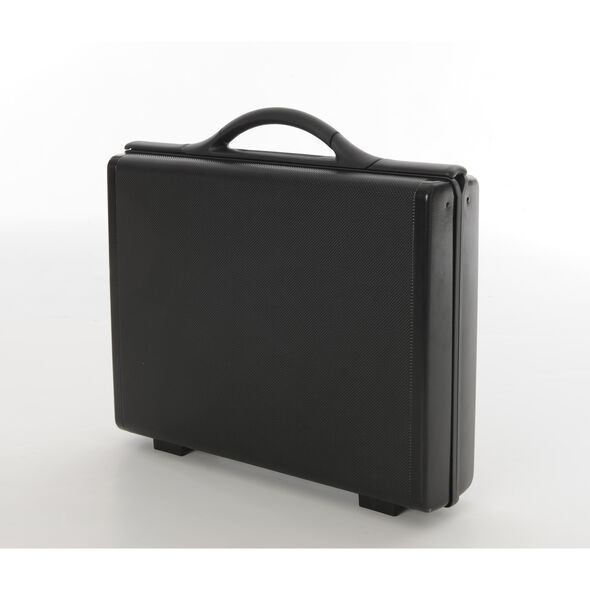 "Samsonite 4"" Attache in the color Black."