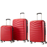 American Tourister Oceanfront 3 Piece Set in the color Red.