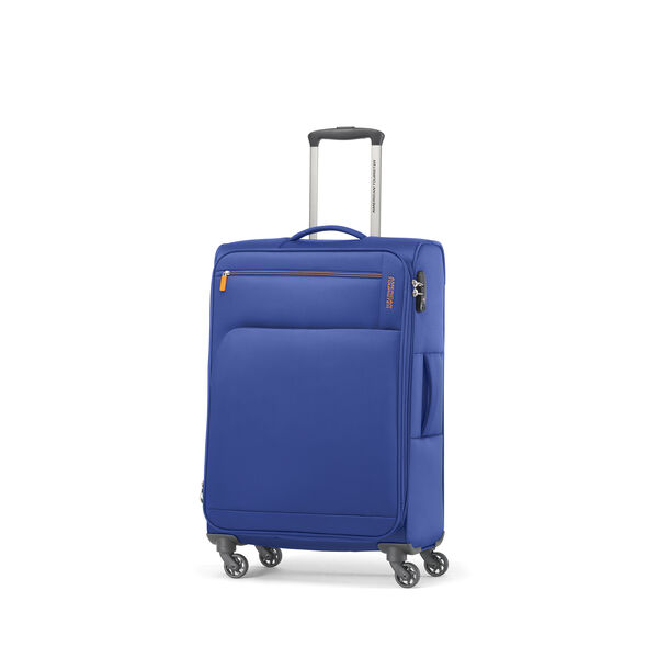 American Tourister Bayview NXT Spinner 3 Piece Set (CCO, Med, Lrg) in the color Imperial Blue.