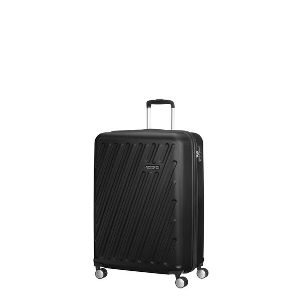 American Tourister Hypercube Spinner Carry-On in the color Black Slate.