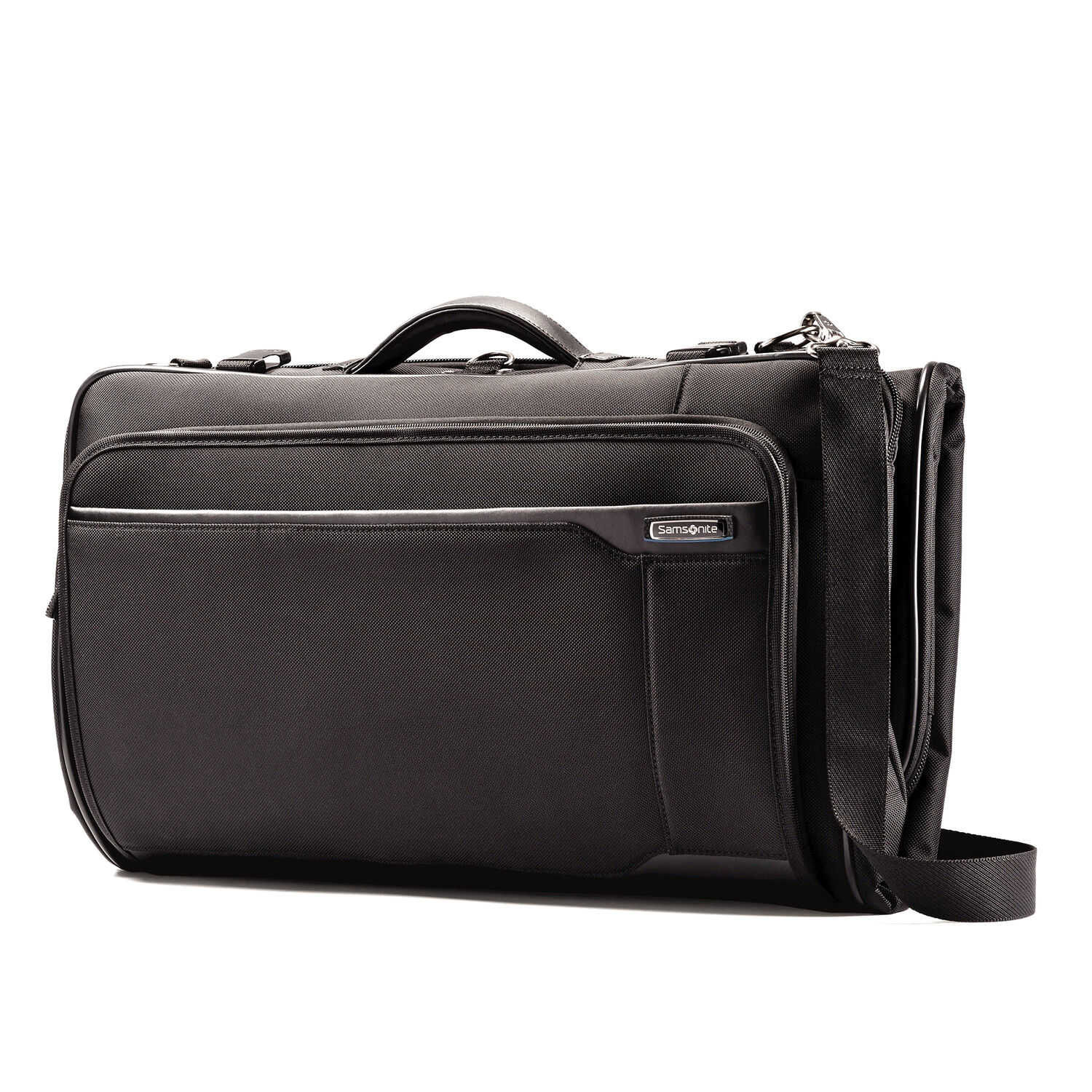 6fe46f4dc605 Samsonite Quadrion Trifold Garment Bag in the color Black.