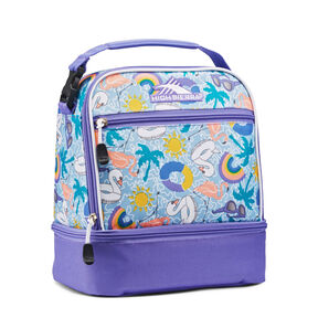 High Sierra Stacked Compartment in the color Pool Party/Lavender/White.