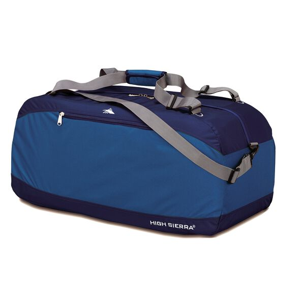 "High Sierra 30"" Pack-N-Go Duffle in the color Pacific/Blue Velvet."