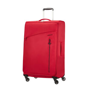 American Tourister Litewing Spinner Large in the color Formula Red.